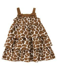 Crazy 8 - girls giraffe dress