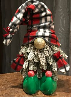 My MOM guest crafts with us today! She shows us how to create adorable Christmas gnomes with mainly all Dollar Tree supplies! 12 Days of Christmas Playlist. Christmas Crafts To Make, Christmas Ornament Crafts, Homemade Christmas, Christmas Projects, Simple Christmas, Holiday Crafts, Dollar Tree Christmas, Christmas Decorations, Xmas Tree