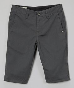 This Charcoal Vmonty Shorts - Boys by Volcom is perfect! #zulilyfinds