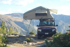 Land Rover Camps - roof top tent ★ App for Land Rover & Range Rover ★ Land…