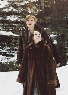 Edmund and Lucy in Narnia