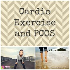 Find out what you need to know about Cardio Exercise and PCOS... How much and what kind of cardio exercise works best to manage your symptoms