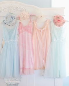 Pastel romantics dresses