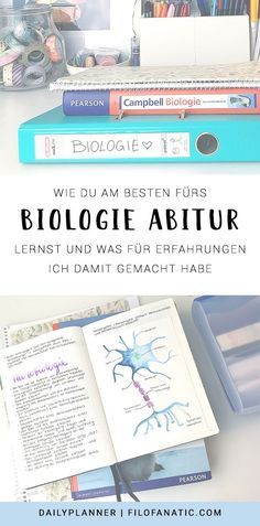 Biology Abitur - That& how I learned! : Dailyplanner - Biology Abitur – That& how I learned! : Dailyplanner Biology Abitur – That& how I l - School Notes, I School, Back To School, Educational Activities, Learning Activities, College School Supplies, Easy Science Experiments, Junior Year, Freshman Year