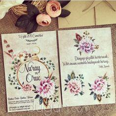 Masalsı Atölye - İstanbul Düğün Davetiyesi Watercolor Wedding Invitations, Bride, Party, Inspiration, Wedding Ideas, Invitations, Wedding Invitations, Bodas, Cards
