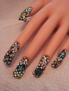 Sinaloa Nails Pictures | ... Acrylic nails images , Acrylic , Acrylic Nails , sinaloa style nails