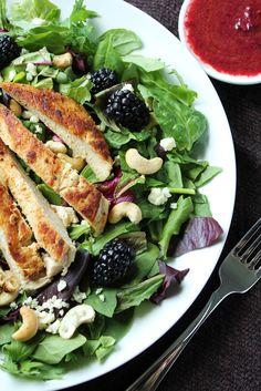 Blackberry Chicken Salad