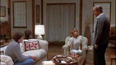 """Trampa mortal"" (""Deathtrap"", 1982). Dir. Sidney Lumet. Stars: Michael Caine, Christopher Reeve, Dyan Cannon."