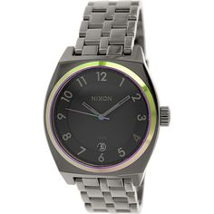 Nixon Women's Monopoly A3251698 Gunmetal Quartz Watch