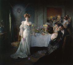 Julius LeBlanc Stewart, Rédemption (1895), Musée d'Art et d'Industrie, Roubaix, France.