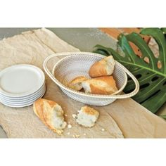 Hand Woven Bread Basket| European-Inspired Home Furnishings | Ballard Designs