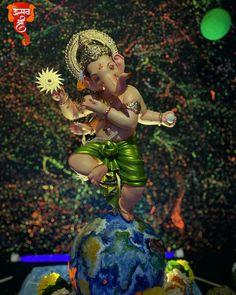 Ganesh Bhagwan, Devon Ke Dev Mahadev, Ganesh Idol, Ganesh Wallpaper, Ganesha Pictures, Ganpati Bappa, Hindu Art, Good Night Quotes, Indian Gods