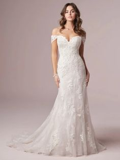 Find Your Style   Maggie Sottero Sheath Wedding Gown, Lace Wedding Dress, Perfect Wedding Dress, Cheap Wedding Dress, Dream Wedding Dresses, Designer Wedding Dresses, Bridal Dresses, Wedding Gowns, Dress Lace