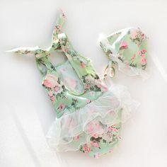 trajes de baño para niñas #bañadoresinfantiles #modabañoniñas