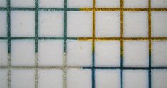 colored grout for white tiles Mapeglitter fra Mapei