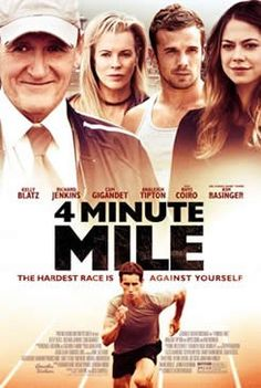 4 Minute Mile: Movie Details, Release Date and Trailer - is the inspirational story of Drew (Kelly Blatz), a high school student struggling to overcome the inner-city surroundings that threaten to imprison him. Release Date: August 1, 2014 (limited)