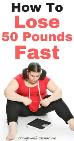 Here are some simple steps you can take if you want to lose 50 pounds fast. A common misconception is that losing weight fast in unsafe. However, this is not true. More studies are now available suggesting that rapid weight loss is more effective. Fast fat loss is safe, losing weight fast is safe. #fastfatloss #lose50pounds #lose50poundsfast #craiglewisfitness
