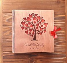 Your place to buy and sell all things handmade Best Wedding Gifts, Best Gifts, Wedding Album Books, Honeymoon Album, Binding Covers, Friends Picture Frame, Photo Guest Book, 3d Laser, Photo On Wood