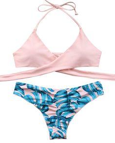 3a08421144d93 Amazon.com: MOOSKINI Womens Padded Push-up Bikini Set Bathing Suits Two  Pieces Swimsuit: Clothing