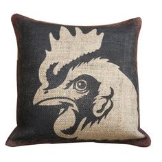 I pinned this Rooster Pillow I from the Animal Kingdom event at Joss and Main!
