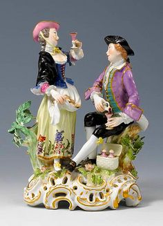 Meissen figure of Taste