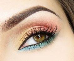 Tutorial para maquillaje colorido ;) #Vorana #MakeupTips #CoastalScents