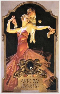 J.C. Leyendecker - Fashion Illustrator Research I love how realistic his illustrations are and how they where used for advertising and how illustrations still are, not as much, but definitely still in magazines and also on blogs which shows how much things have changed.