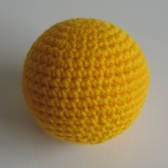 Mathematically perfect crocheted sphere. PDF download of pattern for different sized spheres..