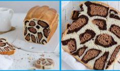 Leopard Milk Bread Recipe By French Baker (Bored Panda) Milk Bread Recipe, Bread Recipes, Baking Recipes, Cake Recipes, Food Cakes, Savoury Baking, Fast Easy Meals, Bread Cake, Fancy Cakes