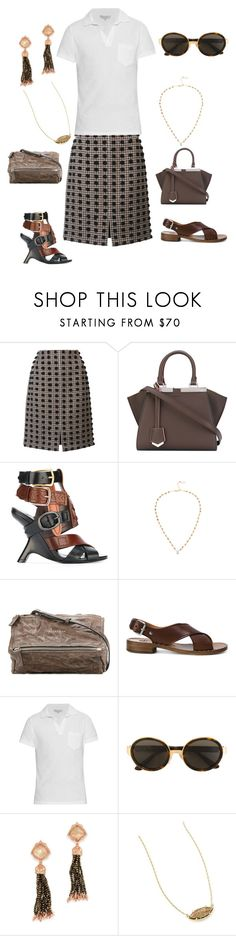 """""""Fashion With Pompom Top"""" by ramakumari ❤ liked on Polyvore featuring Sonia Rykiel, Fendi, Tom Ford, Ela Rae, Givenchy, Church's, Orlebar Brown, RetroSuperFuture, Kendra Scott and summerstyle"""
