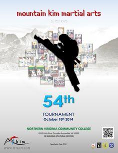 Martial Arts Tournament Poster