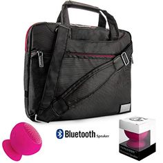 NineO Sport Nylon Shoulder Bag Carrying Case For 910inch Azpen Tablets A1023 X 1P A740 A909  Pink Bluetooth Suction Speaker ** To view further for this item, visit the image link.Note:It is affiliate link to Amazon. #shoutoutback