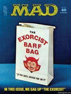 MAD Magazine | Una sola immagine per descrivere l' Esorcista !