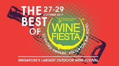 October seems to be a great month for people who enjoy drinking. First, it's the Oktoberfest and now it's the Wine Fiesta 2017, held from Fri 27 –  Sat 29 Oct. Organized by the Straits Wine Company, Singapore Wine Fiesta is arguably the largest outdoor wine festival in the Little Red Dot. This year's edition will also mark the 10th Anniversary of the Festival and will feature the Best of Wine Fiesta so far. In the event, you will get to meet with wine makers, taste a lot of wine (as much as…