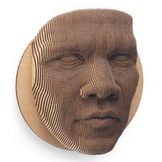 RUIMTELIJK PORTRET ruimtelijk portret van karton