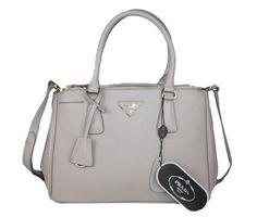 Prada-Saffiano-Classic-Tote-Bag-BN1801-Light-Grey
