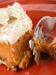 Pumpkin Cheesecake –