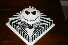 Jack Skellington birthday cake