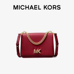 Brand: Michael KorsTexture: CowhideLeather material: cowhideColor classification: Chestnut red/Deep wine redTime to market: 2018Autumn and winterNo. 30F8GOXL7T914Knapsack mode: Single ShoulderStyle: The single shoulder bagSize: bigName of popular style: Other