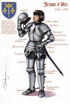 Joan of Arc (1412 – 30 May 1431) | by ourpostcards