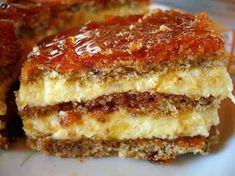 You searched for vienetta - Retete Culinare - Bucataresele Vesele Romanian Desserts, Romanian Food, Sweets Recipes, Just Desserts, Cake Recipes, Easy Cooking, Cooking Recipes, Sweet Tarts, Food Cakes