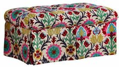 Kieran Storage Bench, Pink/Multi on shopstyle.com