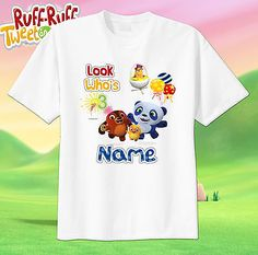 Ruff Ruff Tweet and Dave Custom tshirt PERSONALIZE Birthday ADD NAME AGE, sprout