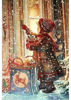 Kid Ringing Door Bell In Snow christmas pictures christmas christmas gifs holiday gifs christmas images christmas photos Christmas Scenes, Old Fashioned Christmas, Christmas Past, Christmas Images, Christmas Greetings, Christmas Holidays, Christmas Decorations, Christmas Glitter, Merry Christmas Gif