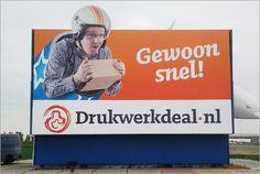Drukwerkdeal.nl #billboard   uploaded by www.drukwerkdeal.nl