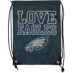 Women's Philadelphia Eagles Love Drawstring Backpack