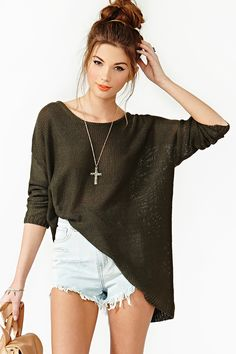 Colette Knit in Olive