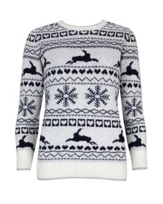 Fairisle jumper by Ted Baker. Love this in the pink one though.