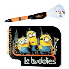 Minions Stationary Set: Writing notes is despicably fun thanks to this notebook and projection pen. Ages 6 and up. Paper. Shop with your Avon Lady Misty. Click on this pin or go to ( www.youravon.com/yourspecialbutterfly )