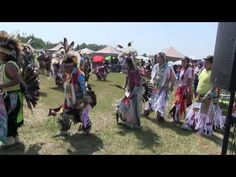 ▶ Opening of Pow Wow Ceremonial Dance - Rocky Mountain House July 2014 - YouTube
